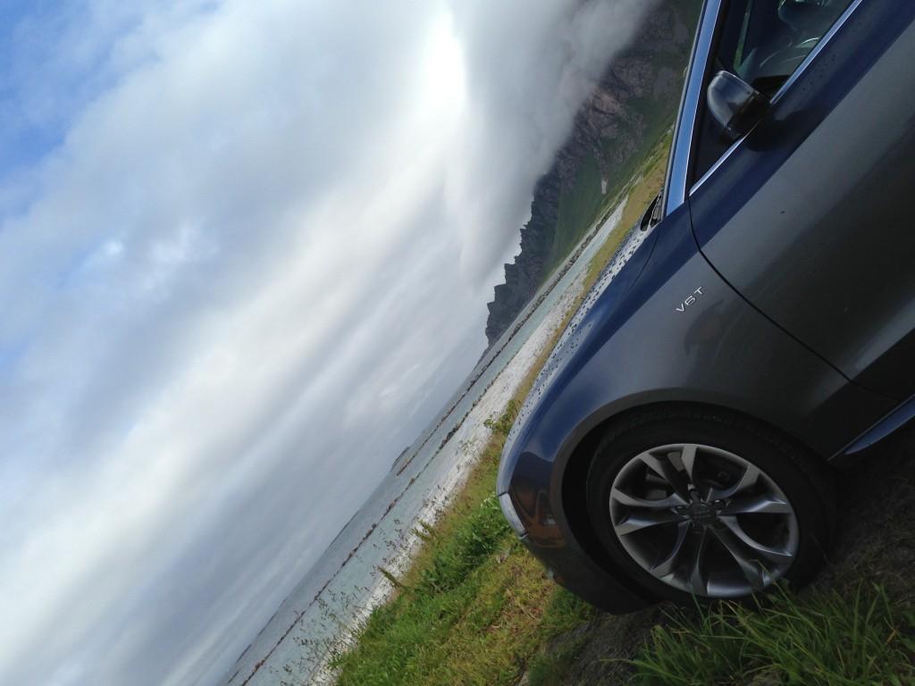 Audiss5cab, AudiS5, Bleik, Beachwalker