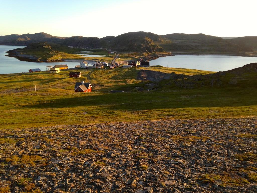 Veines, Kongsfjord, beachwalker