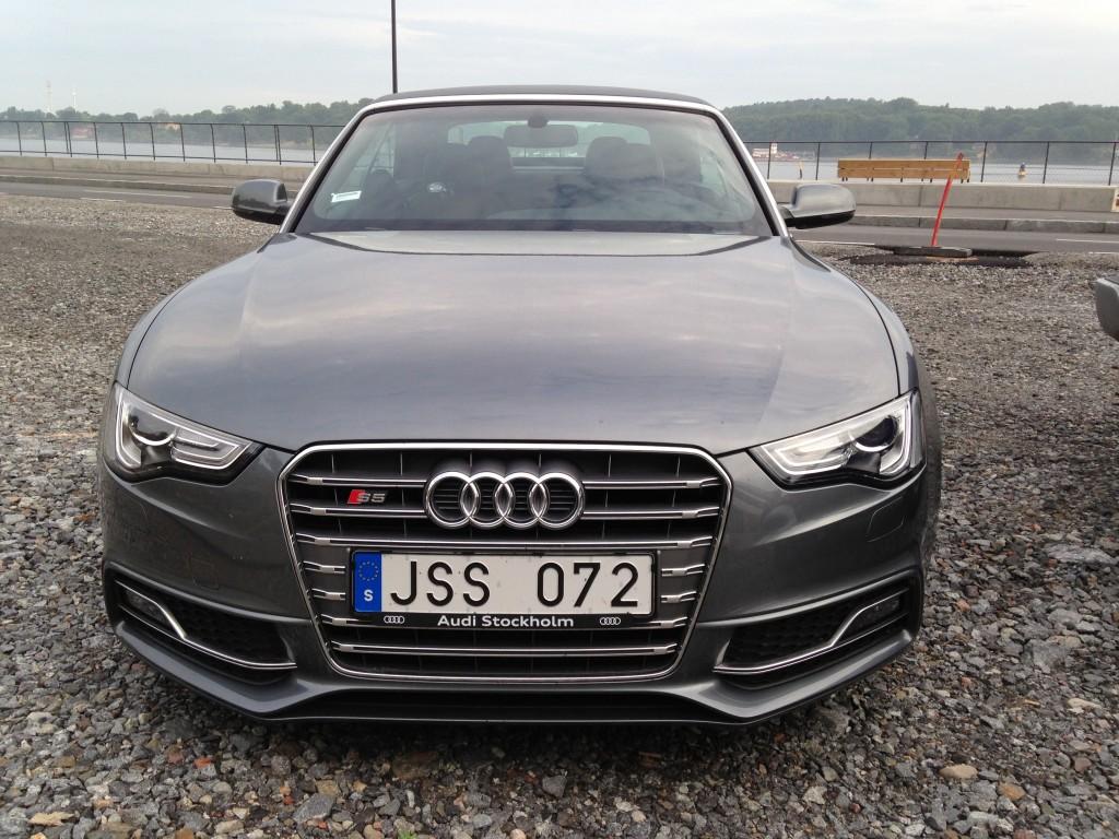 Audi s5 cab, beachwalker