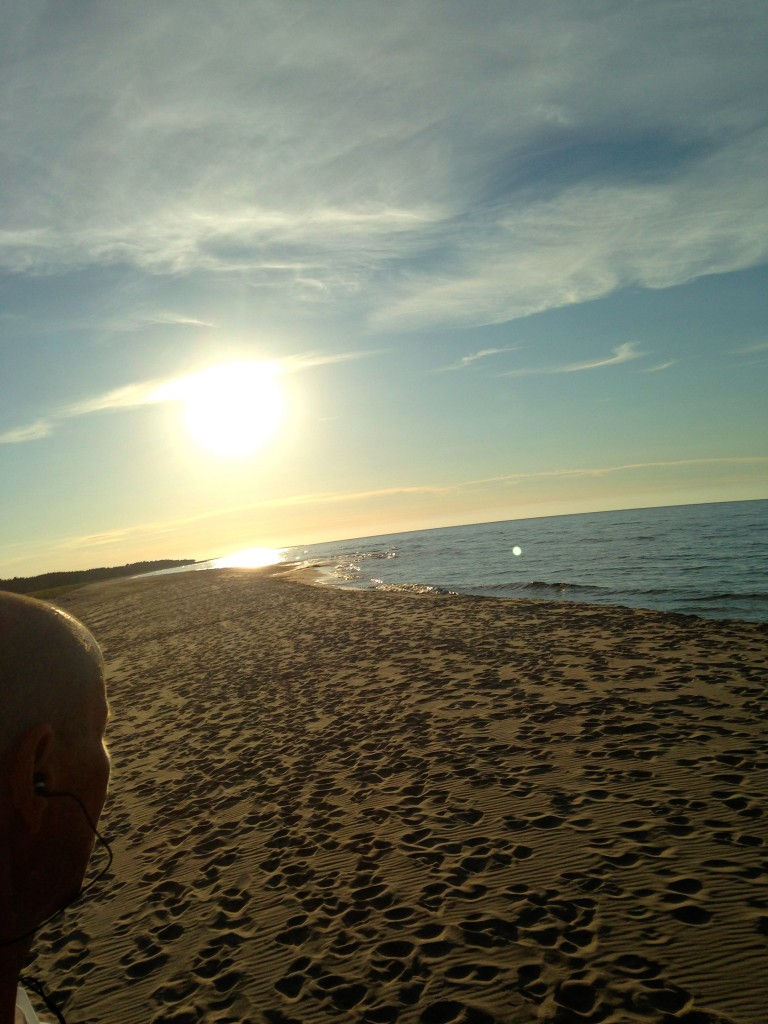 Beachwalker, norsta auren, fårö