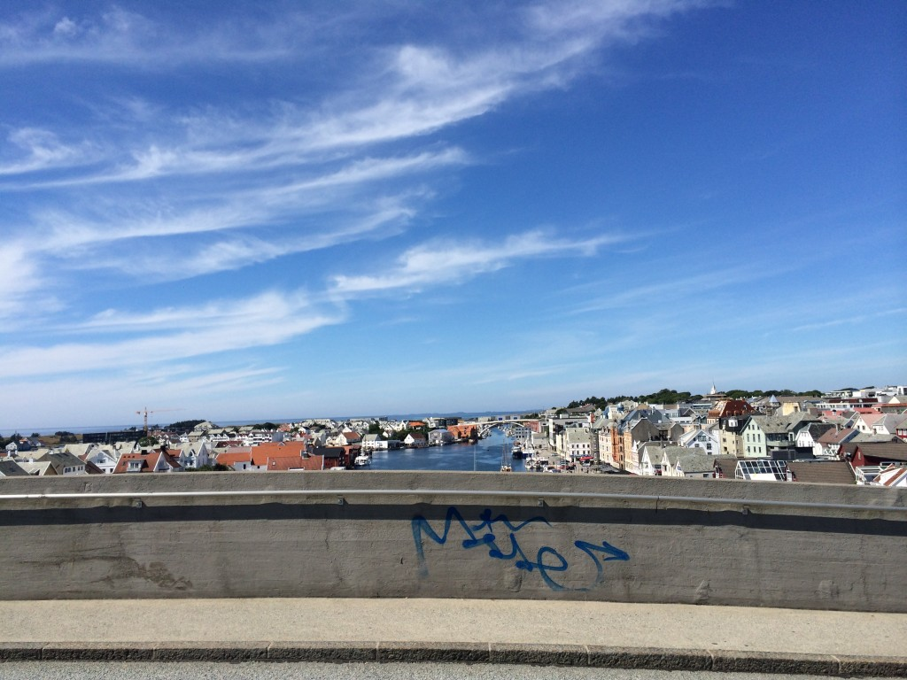 Haugesund from the very top